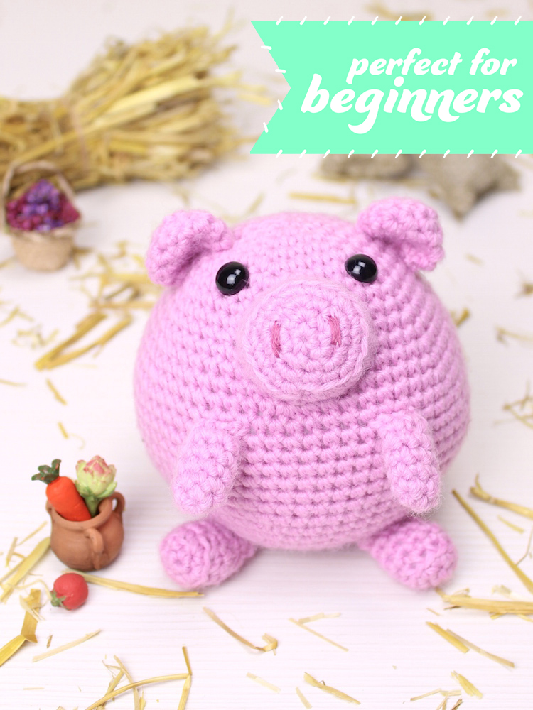 Puffy The Little Pig Tremendu Crochet