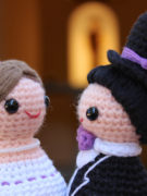 Happy Bride and Groom amigurumi crochet pattern by Tremendu 3