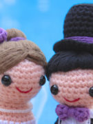 Happy Bride and Groom amigurumi crochet pattern by Tremendu 5