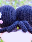 Itsy Bitsy spider amigurumi crochet pattern by Tremendu 5