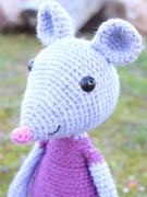 Mia the cute mouse amigurumi crochet pattern by Tremendu 3