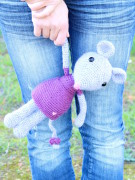 Mia the cute mouse amigurumi crochet pattern by Tremendu 4
