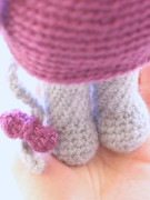 Mia the cute mouse amigurumi crochet pattern by Tremendu 5