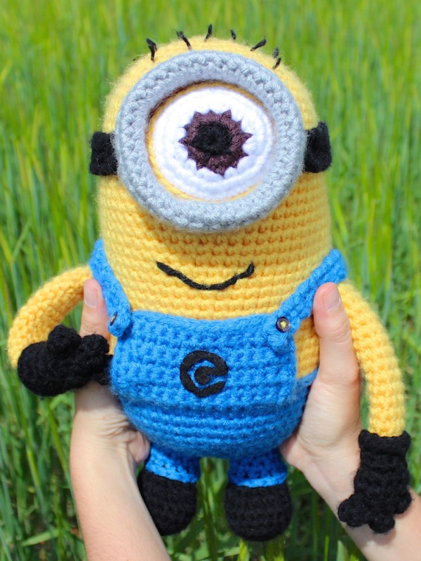Minion amigurumi crochet pattern by Tremendu 1