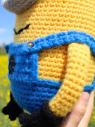 Minion amigurumi crochet pattern by Tremendu 3