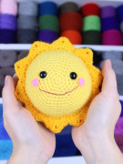 Mr. Golden sun amigurumi crochet pattern by Tremendu 3