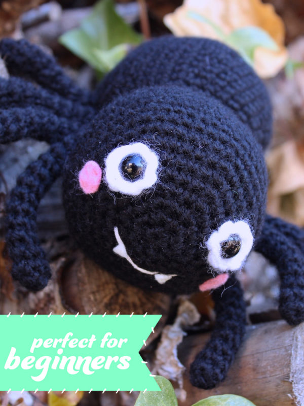 PERFECT FOR Itsy Bitsy spider amigurumi crochet pattern by Tremendu 6