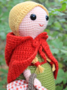 Red Riding Hood amigurumi crochet pattern by Tremendu 3