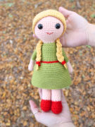 Red Riding Hood amigurumi crochet pattern by Tremendu 4