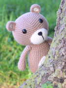 Vinnie the teddy bear amigurumi crochet pattern by Tremendu 2