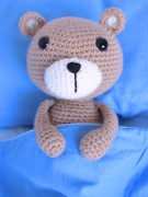 Vinnie the teddy bear amigurumi crochet pattern by Tremendu 4