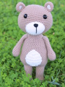 Vinnie the teddy bear amigurumi crochet pattern by Tremendu 6