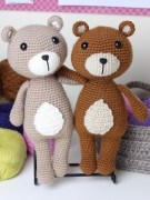 Vinnie the teddy bear amigurumi crochet pattern by Tremendu 8