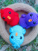 aBaby birds in a nest amigurumi crochet pattern by Tremendu 2