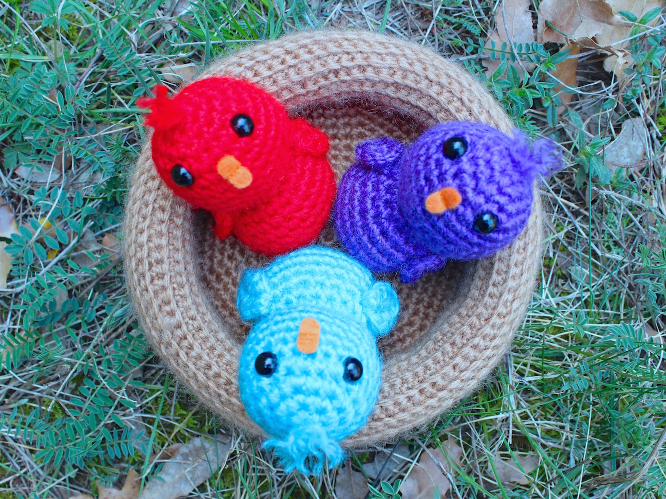 Fantastic Crochet Birds Pattern Pattern - Sewing Pattern for Wedding ...