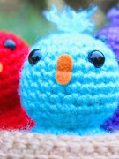 aBaby birds in a nest amigurumi crochet pattern by Tremendu 3