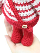 christmas elf amigurumi crochet pattern by Tremendu 4