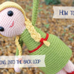 How to crochet through the back loop