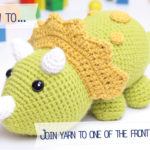 How to… join yarn to one of the front loops