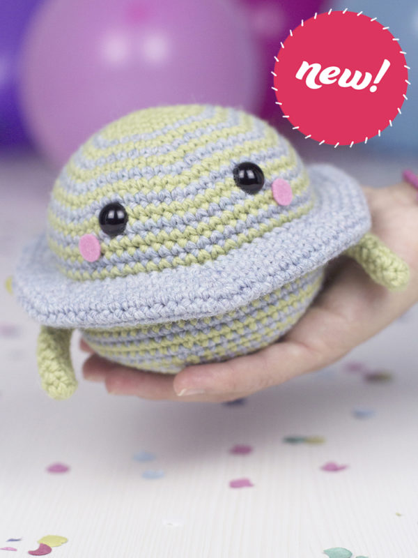 NEW Satu the planet amigurumi crochet pattern by Tremendu 1 copia