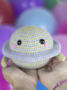 Satu the planet amigurumi crochet pattern by Tremendu 2