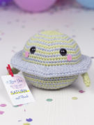 Satu the planet amigurumi crochet pattern by Tremendu 4