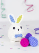 Magicus the easter bunny amigurumi crochet pattern by Tremendu 1