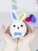 Magicus the easter bunny amigurumi crochet pattern by Tremendu 4