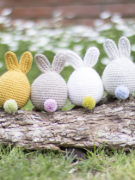 Magicus the easter bunny amigurumi crochet pattern by Tremendu 6