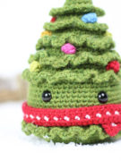 Jolly the Christmas tree amigurumi crochet pattern by Tremendu 5