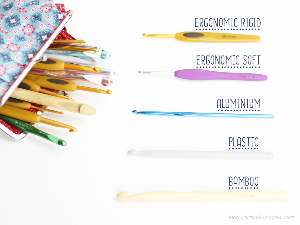 types of crochet hooks 2