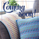 Coming soon… Rainbow dots blanket and pillow cover