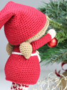 Berry the Christmas Elf amigurumi crochet pattern by Tremendu 2
