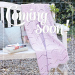 Coming soon… Lacy chevron blanket