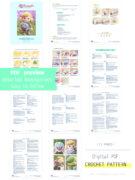 The Legend of Zelda-Link amigurumi crochet pattern by Tremendu PDF preview