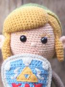 The legend of Zelda – Link amigurumi crochet pattern by Tremendu 2
