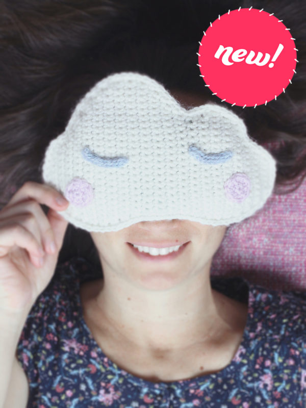 NEW cloud eye pillow