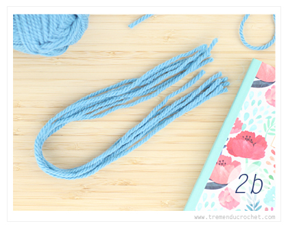 How to add fringe to your crochet project3